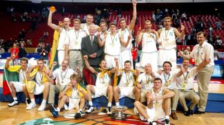 Champion of Eurobasket 2003 Lithuania